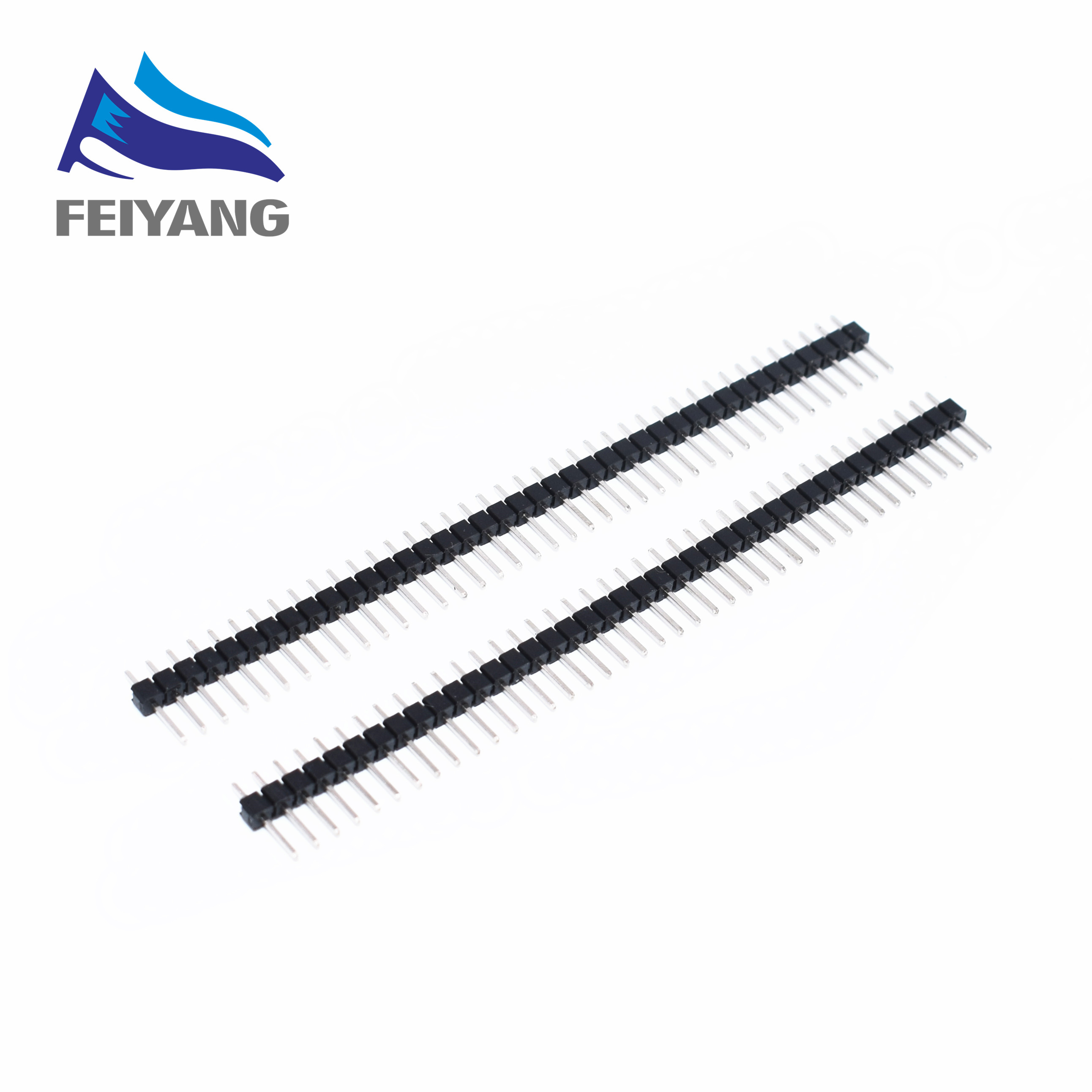 u033f u033f u033f  u2022 u032a  10pcs 40 pin 1x40 single  u2460 row row male 2 54 breakable  u3010 u3011 pin pin header connector strip