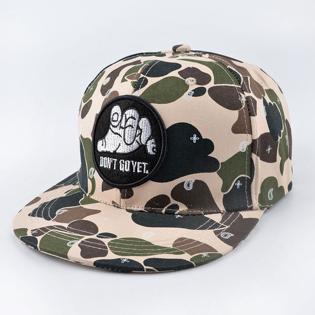 wholesale 2016 new fashion Snapback Caps Flat Hip Hop Casquette Gorras Hats women Camouflage outdoor men army green Baseball Cap