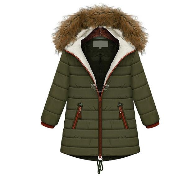 ФОТО NEW 2016 Winter Women Coat Fashion Hooded Jacket Fur Collar Long Coat For Woman Casacos Femininos Woman Parkas Outwear