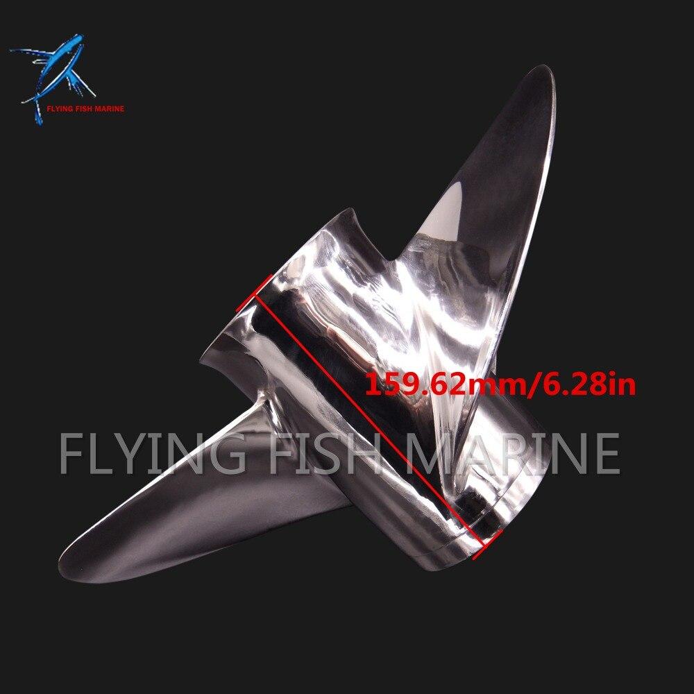 688 45970 03 98 Boat Motor Stainless Steel Propeller 13x19 K for Yamaha 60HP 70HP 75HP