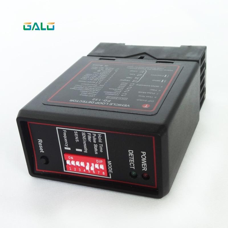 DC24V Vehicular Detector De Lazo Sensor De Masa Car Parking System Vehicle Inductive Loop Detector PD132 For Parking Gate Access