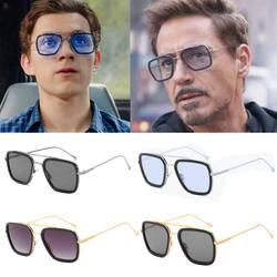Очки Человека-паука вдали от дома Железный человек фильм 2019 Питер Паркер косплей Человек-паук Edith солнцезащитные очки