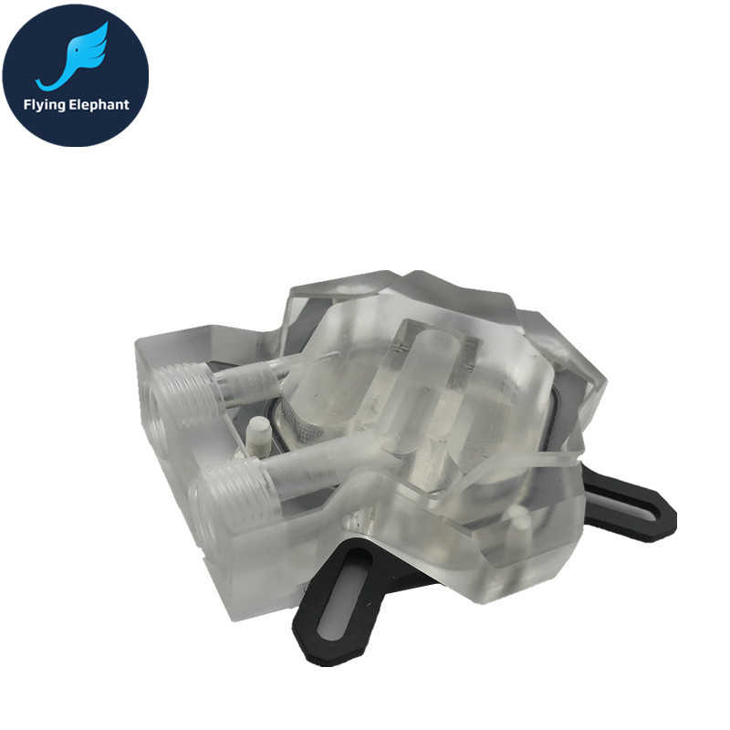 Universal Transparent Acrylic computer Water Cooling Graphics card Water Block Micro Channel Water Way GPU Radiator high quality transparent graphics card gpu water cooling head platform common gpu water cooling block waterblock liquid cooler