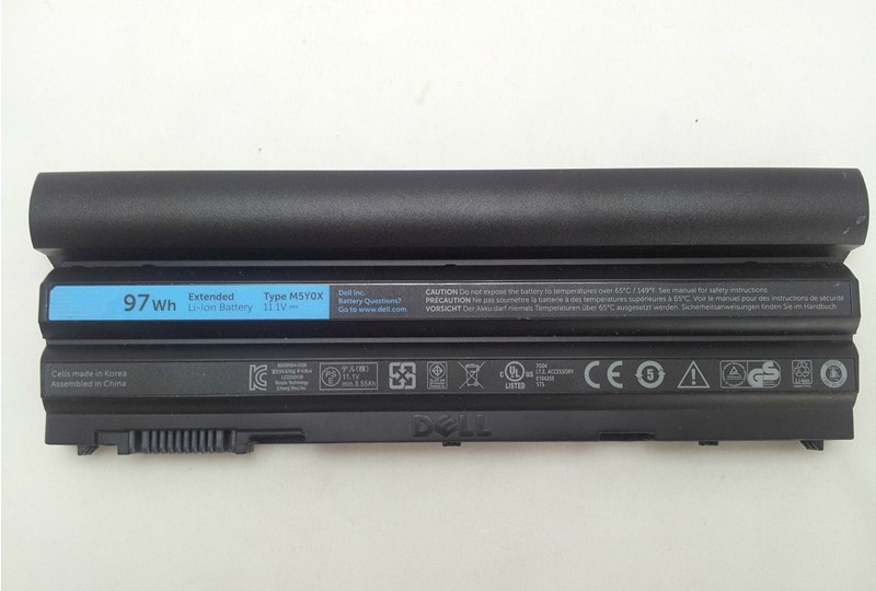 original 97W Genuine Battery for  Dell Latitude E5420 E6420 E5520 E6420 XFR T54fj 9-Cell  free shipping 60wh 11 1v laptop battery for dell latitude e5420 e5520 e6420 e6520 t54fj laptop