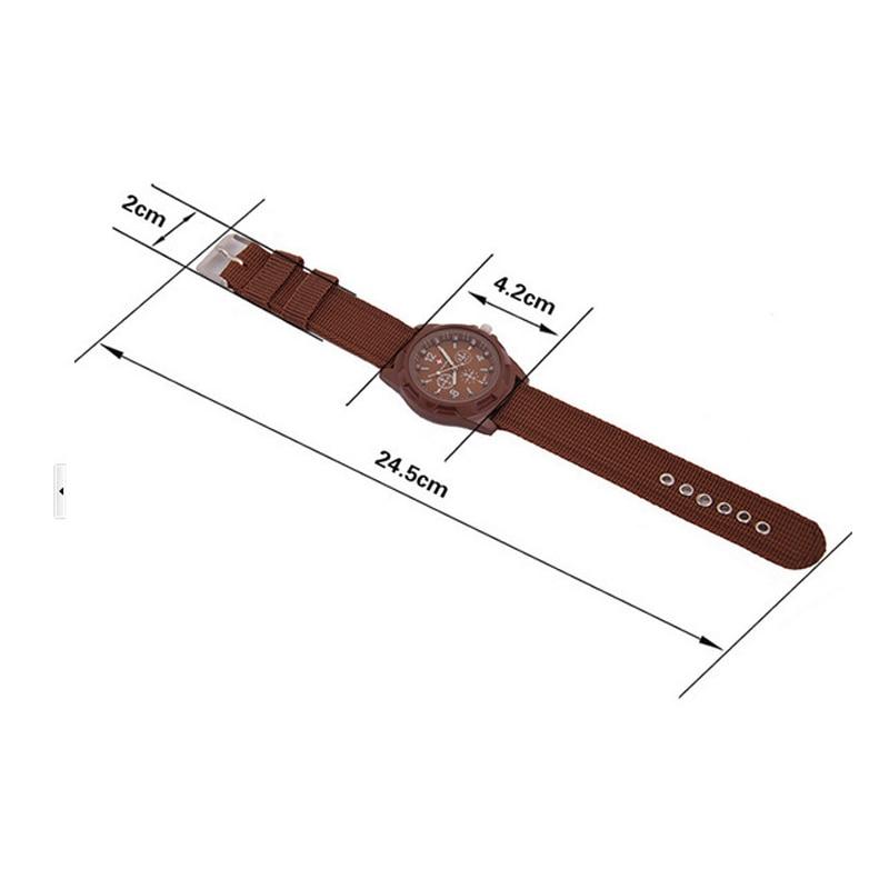 2019 drop shipping Men Nylon band Military watch Gemius Army watch High Quality Quartz Movement Men sports watch Casual wristwatches (1)