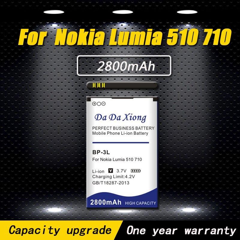 0661c5bc4da High quality 2800mAh BP3L BP-3L Battery for Nokia Lumia 710 510 603 610C  900 303