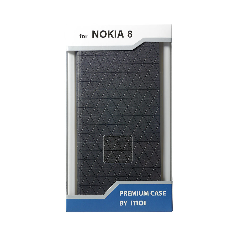 Mobile Phone Bags & Cases INOI Premium wallet case for Nokia 8, PU men s pu leather bifold wallet id business credit card holder