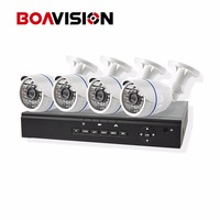 4CH 1080P POE NVR System Network Security CCTV 2MP IP Camera Bullet 4 Channel 1080P NVR