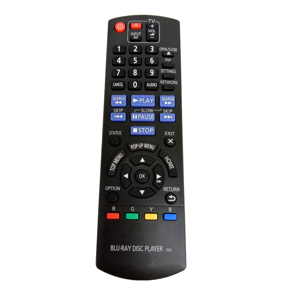 Used Original Replacement Panasonic N2QAYB000736 Blu-ray disc player Remote control for DMPBD75GN DMPBD77GNK remote control for philips blu ray disc player dvd sf 202 bdp9700 7600 3300 5300