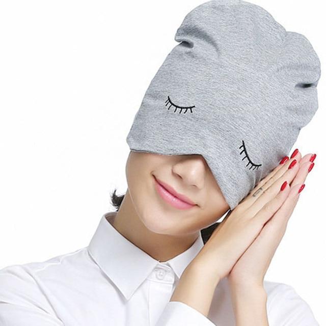 9033dd97902 Unisex Soft 100% Cotton Cap For Women Lovely Embroidery Sleep Hats For Girls  Casual Beanie Thick Velvet Warm Men s Winter Hat