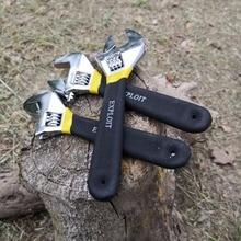 Anti-slide Adjustable wrench set universal adjustable monkey spanner ganzo alicate desincapador  6 Inch 8 Inch 10 Inch nancy martin monkey wrench