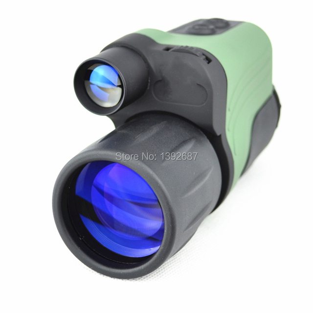 Cheap 3x42 Digital Night Vision Digital Monocular Infrared Telescope with Black and White Display and IR Light