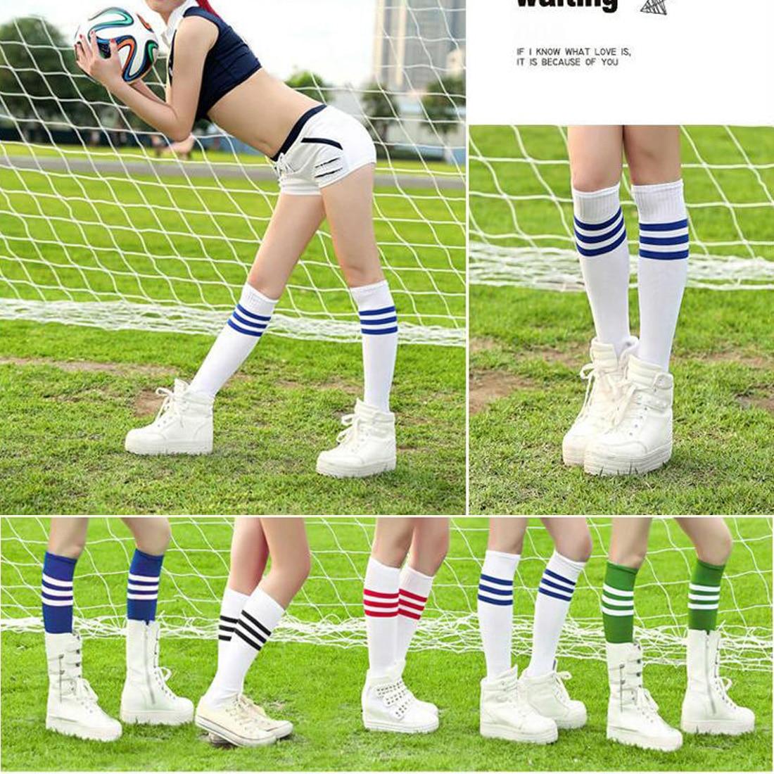 basketball striped Knee socks high