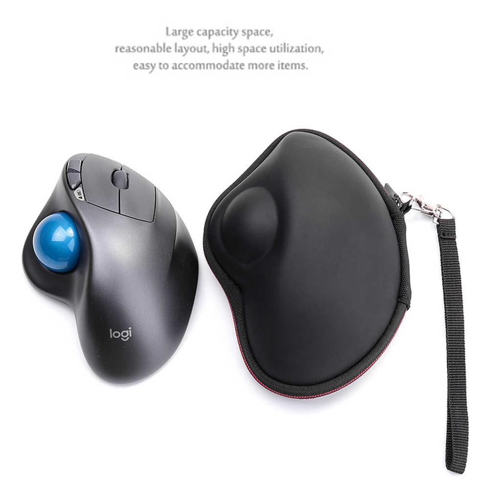 Nueva funda dura EVA para logo M570 Advanced Wireless Trackball y M570 Trackball Mouse-Bolsa de transporte protectora de viaje