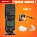 YONGNUO YN600EX-RT II 2.4G Wireless HSS 1/8000s Master Flash Speedlite for Canon Camera as 600EX-RT YN600EX RT II + GIFT KIT