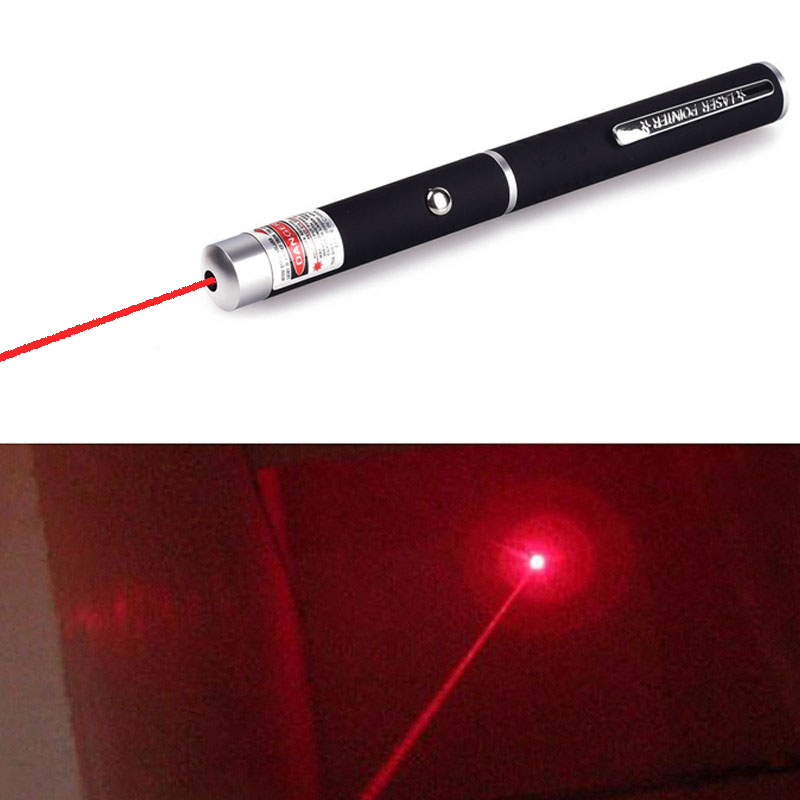 1 PC Kraftfull Laser Pointer Pen Puntero Laser Caneta Lazer Red Jakt Laser Sight Device Gratis frakt