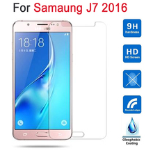 Tempered glass For Samsung Galaxy J7 2016 Screen Protector Cover On Sam