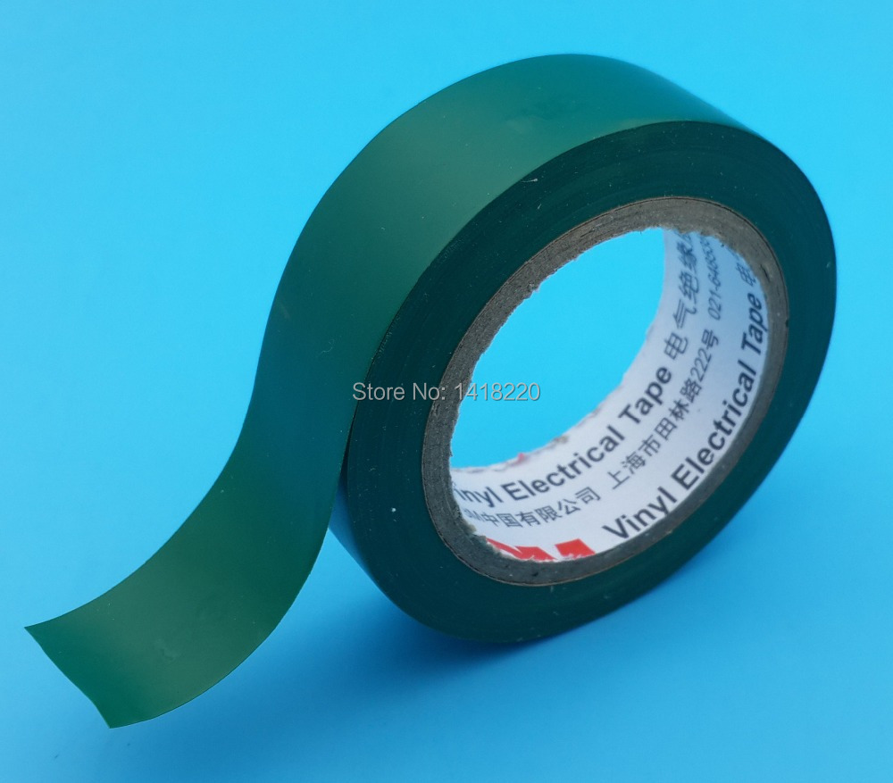 US $8 88 |5Pcs 3M 1500 Vinyl Electrical Tape Insulation Adhesive Tape  Green-in Tape from Home Improvement on Aliexpress com | Alibaba Group