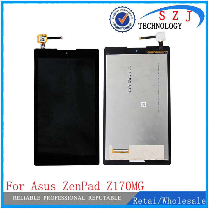 New 7 inch Touch Screen Digitizer + LCD Display Replacement For ASUS ZenPad C 7.0 Z170MG Free Shipping new 5 5 inch full lcd display touch screen digitizer assembly replacement for asus zenfone 3 zoom ze553kl free shipping