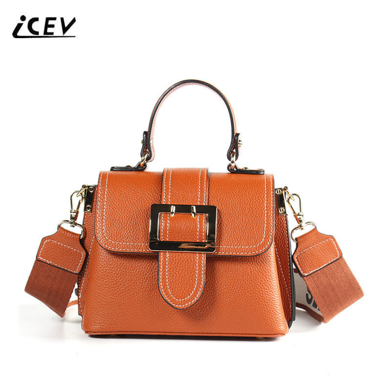 ICEV New European Fashion Designer High Quality Genuine Leather Handbags Bags Handbags Women Famous Brands Women Leather Handbag icev new fashion europe style genuine leather handbags alligator women leather handbags bags handbags women famous brands bolsa