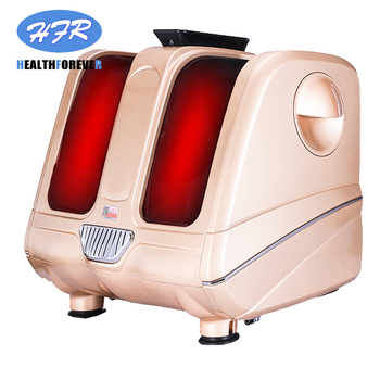 electric slim full beg and foot compression warmer pain circulation air pressure leg massager hot legs and feet massage