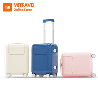 Xiaomi Child Kids Suitcase 17 Luggage Waterproof Camping Travel Trolley Case With DIY Sticker Kawaii Makrolon Travel Luggage