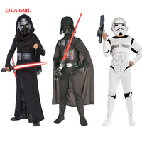 LIVA GIRL Children Boys Star Wars Kylo Ren Costume The Force Awakens Cosplay Fancy Dress Festival