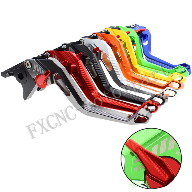 FXCNC One Pair Short Aluminum Alloy  Adjustable Motorcycle Brake Clutch Levers Fit For SUZUKI GSX1250 F/SA/ABS 2010-2016