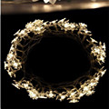 Hot sale 5m 30lotus flowers Led string garland light Xmas New year Wedding Holiday Party home luminaria decoration lamp