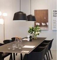 A1 Nordic NEW Modern European Pendant Lights Danish Designer Color Aluminum Single Head Restaurant Living Room