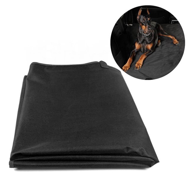 Waterproof Dog Car Seat Cover Pet Dog Seat Cover Car Rear Back Mat Anti Scratch Seat Covers Roap Trip Travel Blanket for Pets 2