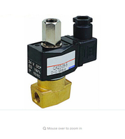 1/8 3/2 way solenoid valve with square coil IP65