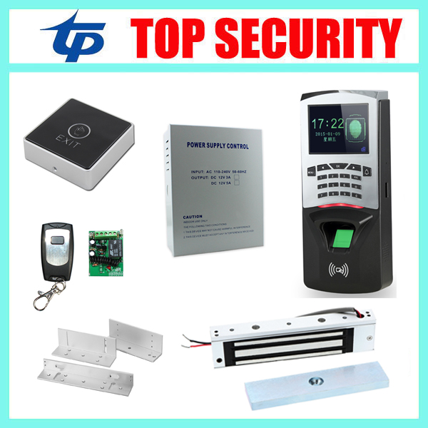 F807 TCP/IP standalone single door biometric fingerprint time attendance and access control system with RFID card reader