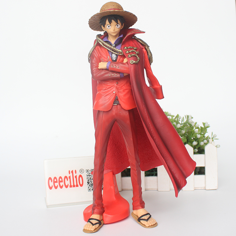 Anime One Piece Action Figure 20th Red Clothes Luffy Mdoel Toys pvc Collection Figurine luffy Toys 24cm one piece figura luffy gear 2 pop one piece action figure japanese anime figure pvc figurine bonecos do one piece toys juguetes