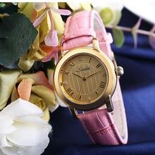 Ladies Fashion Quartz Watch Women Rhinestone Leather Simple Casual Dress Women s Wristwatch Reloje Mujer 2016