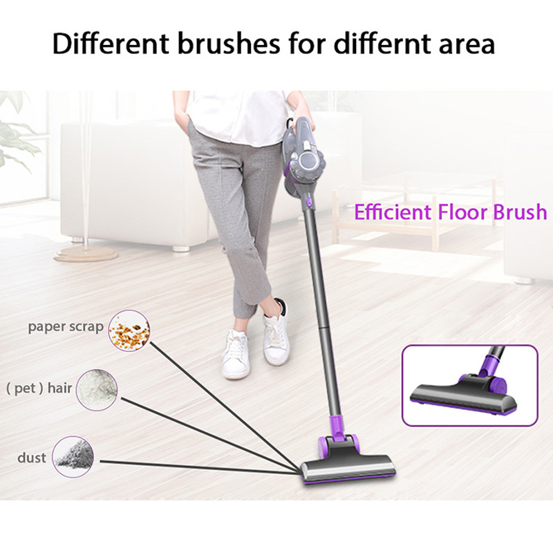 Pooda D8 Upright Vacuum Cleaner Handheld 2-in-1 Washing Cleaning Sweeping Machine Powerful Wired Vacuum Cleaner For Home