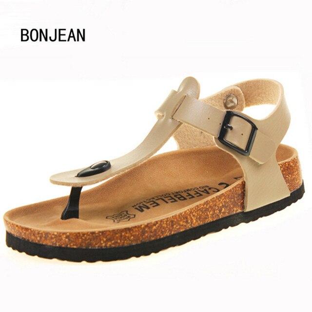 Women Sandals Shoes Cork Sandals Pregnant Women Shoes Beach Sandals for Women Summer Shoes Non-Slip Cool Slides Plus size 35-42