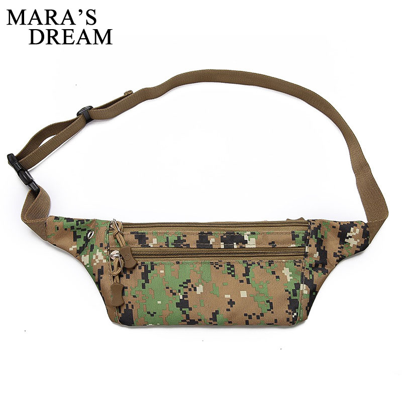 Mara's Dream Fanny Pack Men Waist Pack Bags Male Casual Cigarette Phone Case Money Belt For Travel Leisure Security Wallet Purse