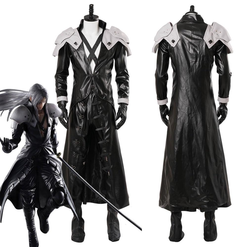 Cosplay Costume Final Fantasy VII: Remake Sephiroth Cosplay Costume Adult Men Halloween Carnival Costumes Custom Made