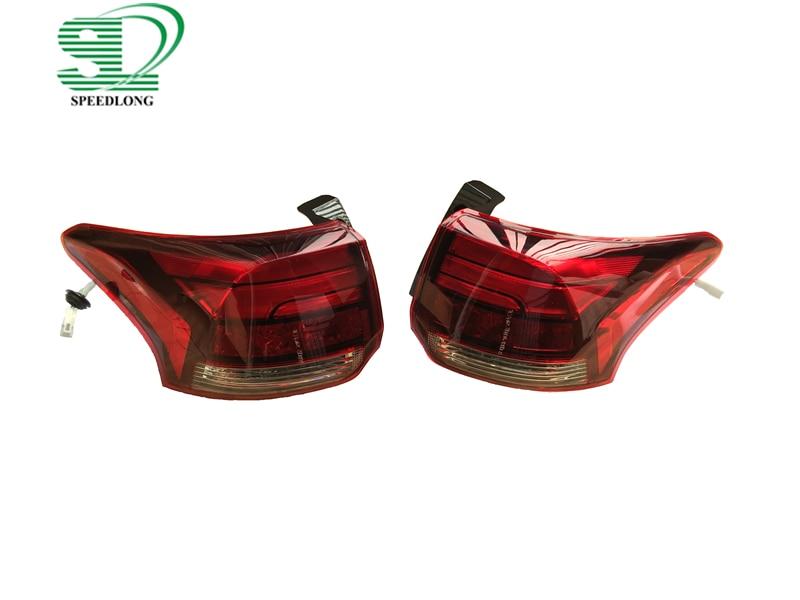 2 шт./пара 8330B003 светодио дный 330b004 светодиодные задние фонарь в сборе внешний левой и правой стороны автомобиля хвост лампа для Mitsubishi Outlander 2016