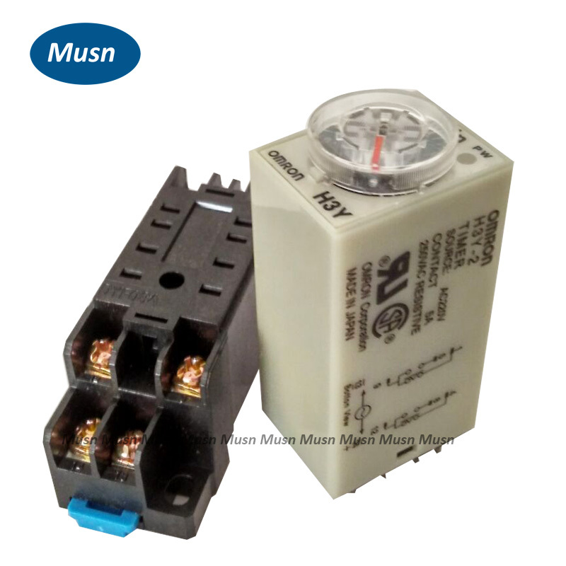20pc lot DC 12V Delay Time Relay 0 10 Minute DC 12V Timer H3Y 2 With