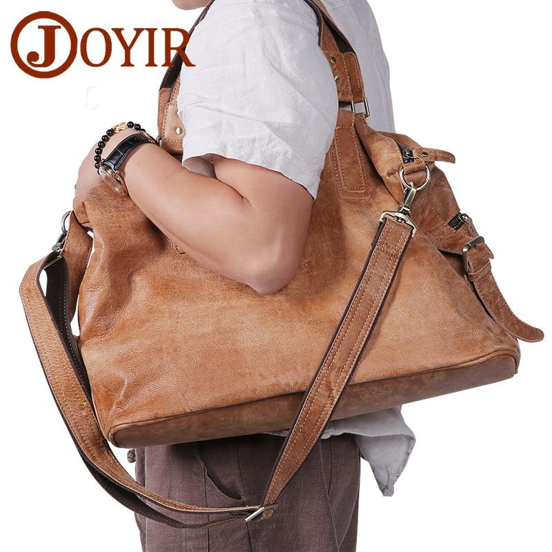 bc1e3b36fe JOYIR Γνήσια δερμάτινη τσάντα Crossbody τσάντα ατόμων ανδρών ...
