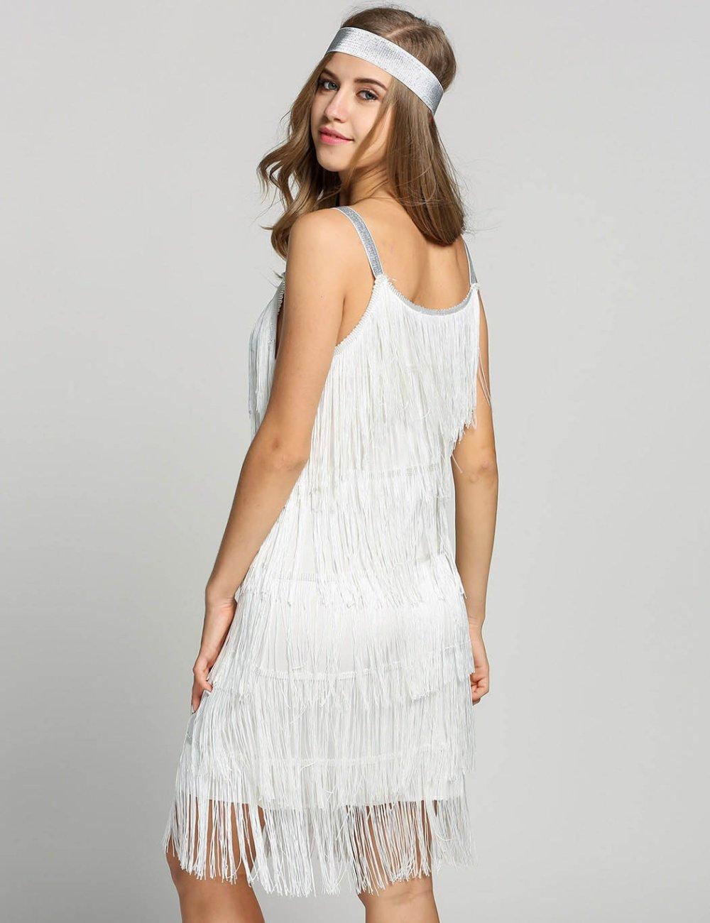 flapper fringe dress (10)