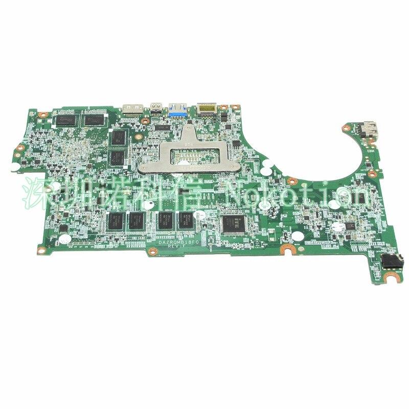 NOKOTION NBMQ711002 NB.MQ711.002 Laptop Motherboard For acer aspire V5-573 V5-573G GeForce GT850M i5-4210U CPU DAZRQMB18F0 REV F