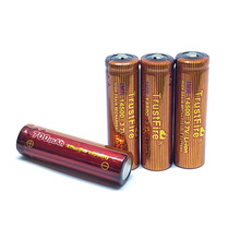 Trustfire IMR 14500 3.7V 700mAh Lithium High Drain Rechargeable Battery Batteries For Led flashlights Torch