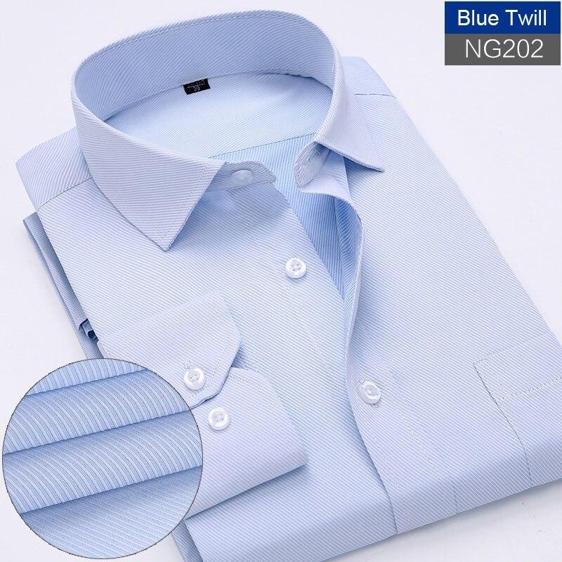 homens marca de manga longa sólida camisas