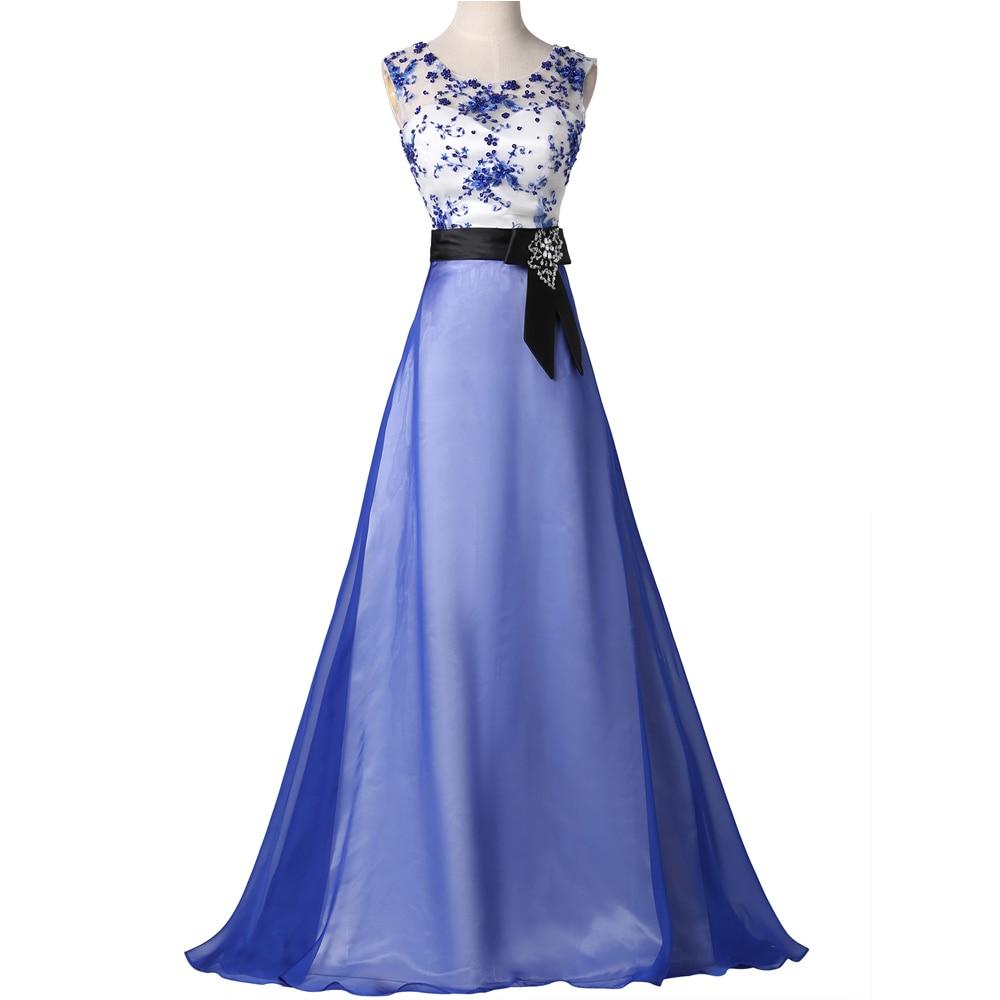 Blue Vintage Prom Dress 59