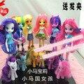 Original Equestria meninas bonecas / figuras de ação / Anime venda quente cavalos brinquedos / brinquedos clássicos para meninas