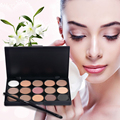 Comestic Maquiagem de Longa Duração naturais 15 Cores da sombra do Olho Da Paleta Da Sombra Matte Marca Para As Mulheres 3 padrões Para Escolher