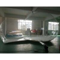 М 4 м Диаметр м с 2 м коридор прозрачный Кемпинг палатки надувной пузырь отель событие палатка
